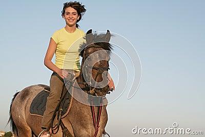 Teen rider
