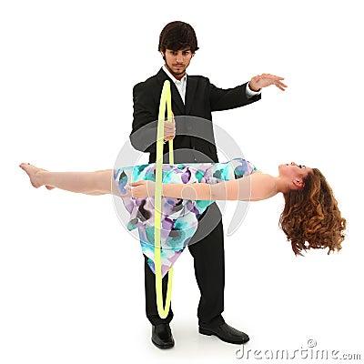 Teen School Talent Show Magic Trick Act