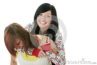 Teen sisters