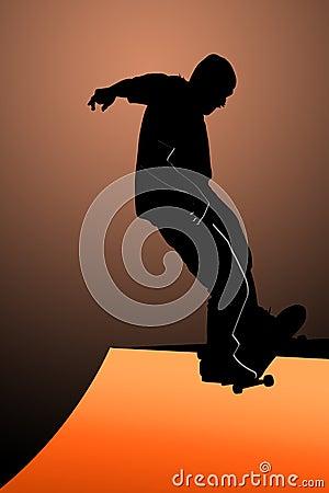 Teen skater