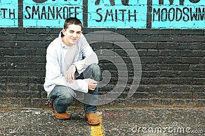 Teen on Street