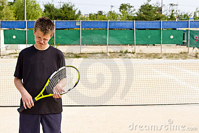 Teen tennis player lost