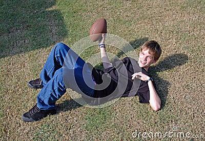 Teen Touch Football