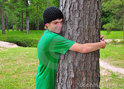 Teen Tree Hugger