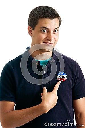 Teen voter