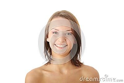 Teen woman portrait