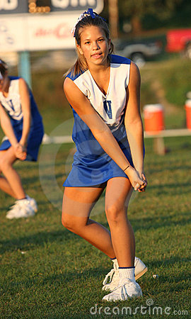 Teen Youth Cheerleader Cheering 4