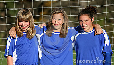 Teen Youth Soccer Buddies