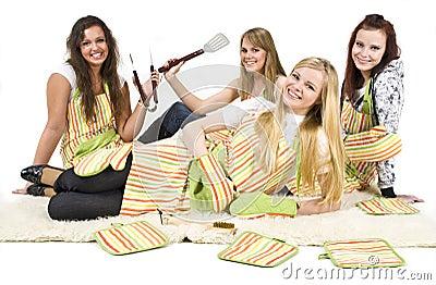 Teenage chefs