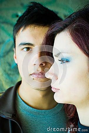 Free Teenage Couple Royalty Free Stock Images - 2368449