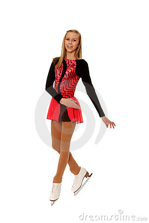 Teenage Figure Skater