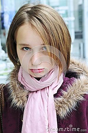Free Teenage Girl Pouting Stock Photos - 5369393
