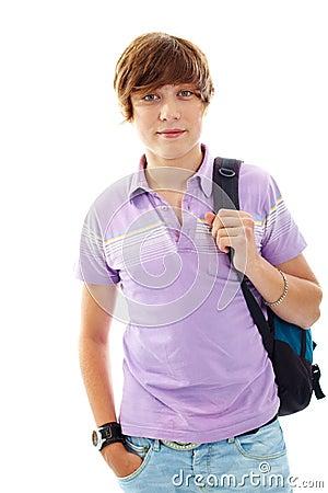 Teenage lad