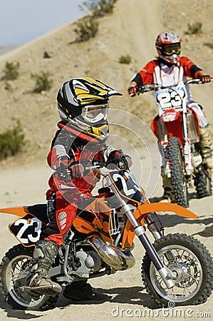 Teenage Motocross Rider