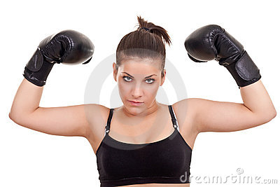 Teenager Boxer