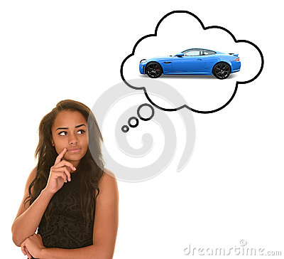 Free Teenager Dreaming Of Car Stock Photos - 91592763