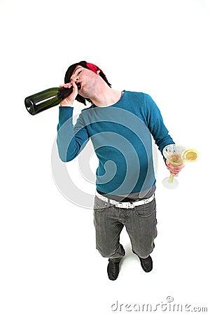 Teenager drunk