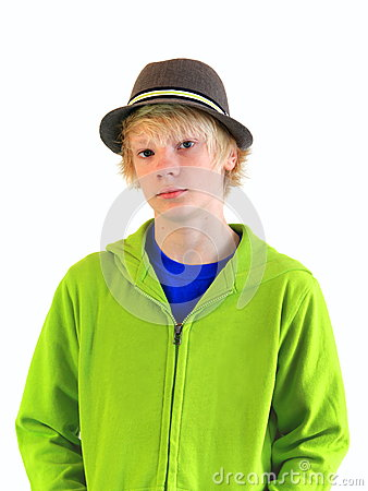 Teenager in the Hat