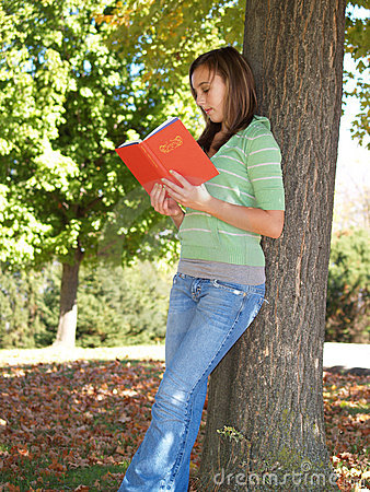 Free Teenager Reading A Book Stock Images - 3483074