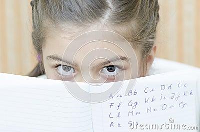 A Teenager Schoolgirl