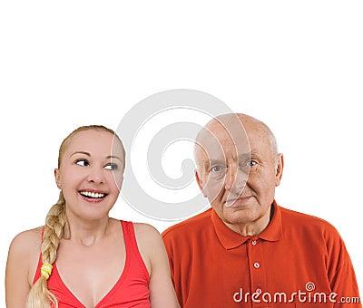 teenager and senior