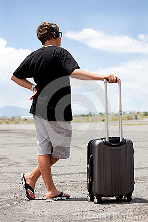 Teenager Traveling
