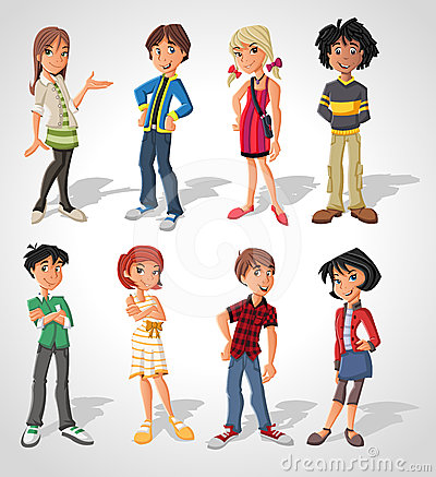 Free Teenagers Stock Photography - 24581642