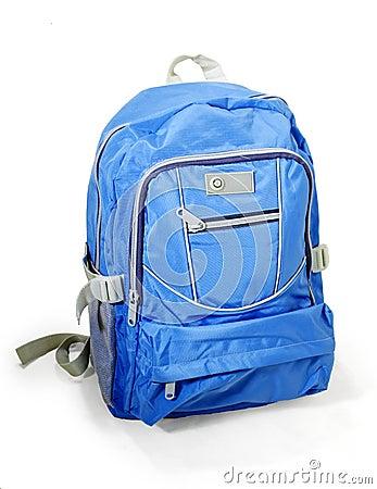 Teenagers backpack