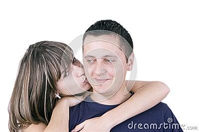Teenagers couple