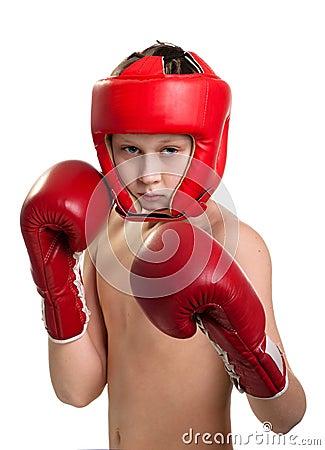 Teens boxer