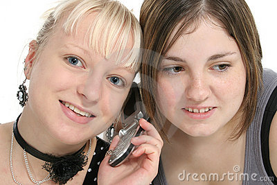 Teens on Cellphone