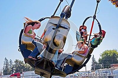 Teens Enjoy Carnival At Northwest Washin Editorial Image