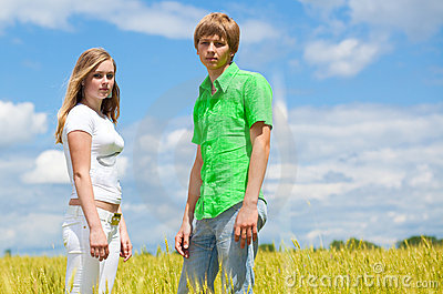 Teens in the field