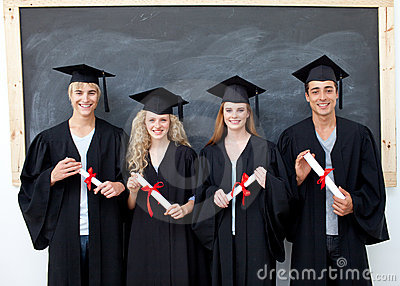 Teens after graduation