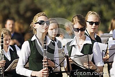 Teens musicians