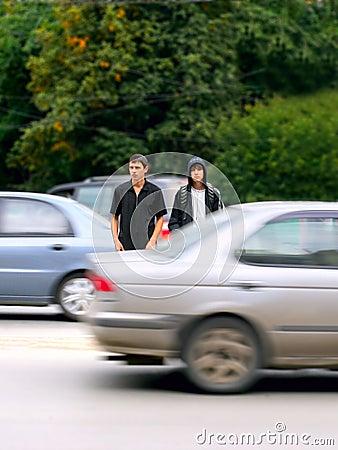 Teens on the street