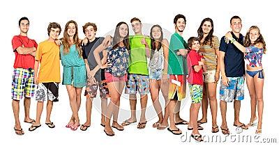 Teens summer