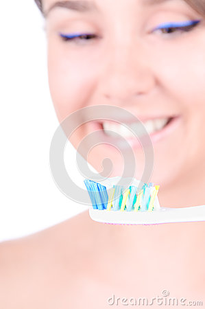 Teeth whitening. Dental care