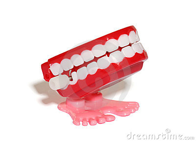 Teeth Wind Up Toy