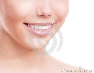 Teeth of a woman
