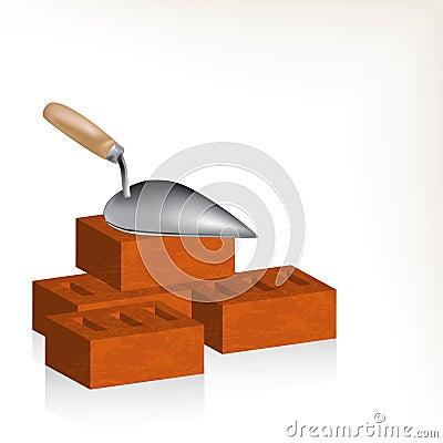 Tegelsten och murslev