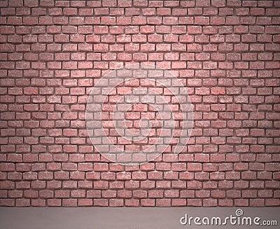 Tegelstenvägg