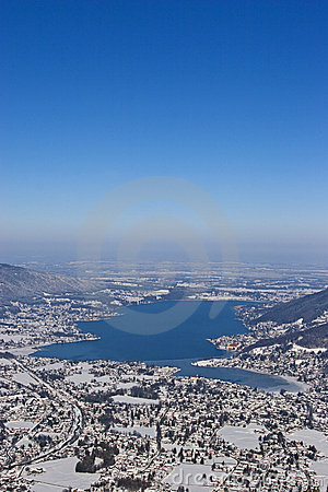 Tegernsee in winter