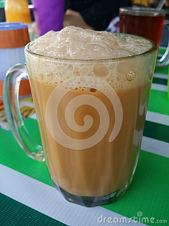 how to make teh tarik malaysia