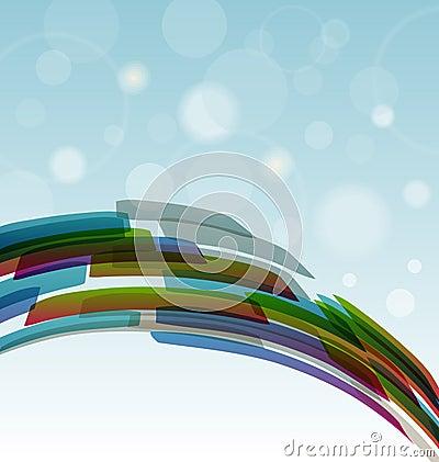 Tehnology background light blue