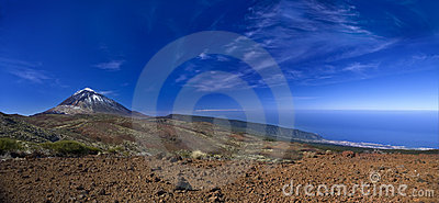 Teide Mountain Blue