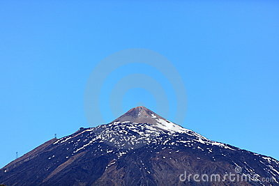 Teide mountain top