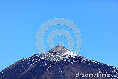 Teide mountain top