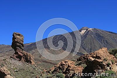 Teide - volcanic desert landscape