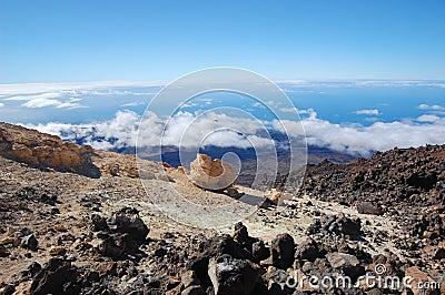 Teide volcano view